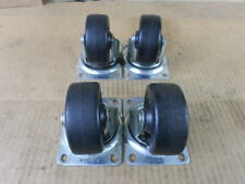 Lot of 4 Faultless 100-3 Swivel Caster Wheels