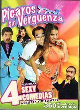 Picaros Sin Verguenza-4 Peliculas Sexy Comedias (Slimline DVD, 2010)