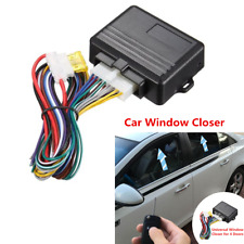 12V Automatic Window Closer Module with Harness For 4 Door Car Power Roll Up Kit