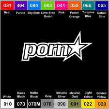 Porn Star Vinyl Decal Sticker Window Car Truck Drift JDM