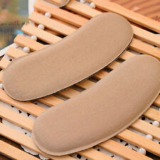 5Pair Sticky Fabric Shoe Heel Inserts Protector Pads Cushion Pad Grips