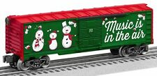 Lionel 6-84748 Christmas Music Box Car #18, Plays Christmas carols NEW