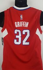 Adidas Blake Griffin Jersey Youth Medium NWT Red Los Angeles Clippers G5