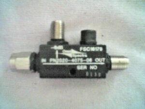 O S Model 2020-4075-08  , 6dB RF Directional Coupler , ?? - ??GHz , 50 Ohm SMA