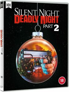 Silent Night Deadly Night Part 2 Blu-Ray Region B Inc Registered Post