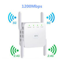 Dual Band WIFI Repeater 2.4G 5G 1200Mbps Router Wireless Range Extender Booster