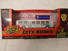 Road Champs New York City Bus - Die Cast  Excellent Condition