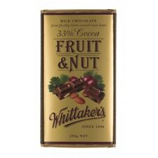 Whittakers Fruit and Nut Chocolate Block 250g