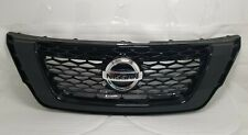 New OEM Front Grille Fits 2016-2018 Nissan Pathfinder BLACK NO CAMERA 623108A40A