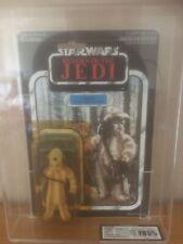 Vintage Star Wars Logray Moc UKG Graded