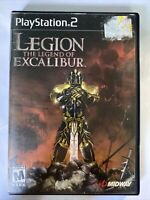 Legion: The Legend of Excalibur (Sony PlayStation 2, 2002, Rated M, Midway) PS2