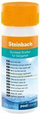 Steinbach Wassertester Quicktest Streifen für Salzgehalt 20 Teststreifen 0790