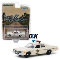 GREENLIGHT 30140 1975 DODGE MONACO HAZZARD COUNTY SHERIFF DIECAST MODEL CAR 1:64