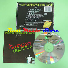 CD MANFRED MANN'S EARTH BAND Live Budapest 1983 england (Xs2) no lp mc dvd
