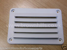 HYMER MOTORHOME & CARAVAN RECTANGULAR KITCHEN AIR VENT WHITE