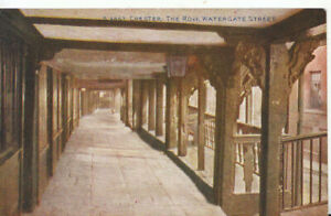 Cheshire Postcard - Chester - The Row - Watergate Street - Ref TZ5967