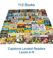 New! 112 CAPSTONE Grades K,1 & 2 *Guided Reading Levels A-N* Readers Homeschool