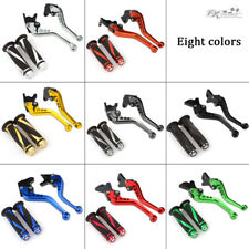 For Yamaha WR125X WR125R 2010-2014 CNC Brake & Clutch Levers Handle Grips FXCNC