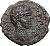 GETA as Caesar 198AD Nicopolis ad Istrum NIGHT STAR Ancient Roman Coin i58059