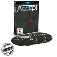 ACCEPT Blu-Ray + 2CD - Restless and live - Blind rage - Live in Europe 2015