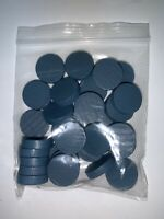 Fog Of Love Game 35 BLUE PERSONALITY TOKENS ONLY Replacement Part Pieces Wooden
