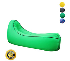 *Green* Hybag Inflatable Lounger Outdoor Beach Chair Air Sofa, Waterproof Campin