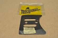 NOS OEM McCulloch Mac Chain Saw Bar Base Plate 87278