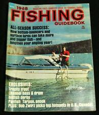 1968 FISHING GUIDEBOOK MAGAZINE VINTAGE - ALL SEASON SUCCESS - OUTDOORS