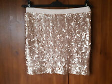 Neues AngebotM&s Limited Collection Rock Rose Gold Pink Pailletten Sommer Party UK 12/40-NEU