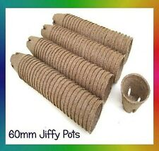 Jiffy Pots - 60mm Round x 50pcs - Propagation, Seedling, Herbs, Veggie