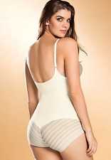 MAKE YOUR OFFERS!! LEONISA UNDETECTABLE FIRM CONTROL BODYSUIT SHAPER, SIZE M