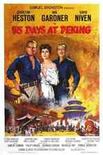 55 Days at Peking 01 Film A3 Box Canvas