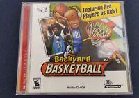 Backyard Basketball PC CD-ROM Sports Game Kevin Garnett 2001 Infogrames Complete