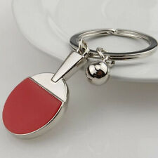 Pingpong Pendant Men Car Home Key Chain Ring Boys Fashion Table Tennis Gadget