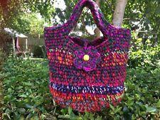 Crochet handmade handbag, tote bag,shopping bag basket bag, Unique bag, New