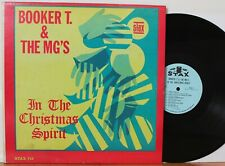 """Booker T & the MG's LP """"In The Christmas Spirit"""" ~ Stax 713 ~ Orig Mono ~ CLEAN"""