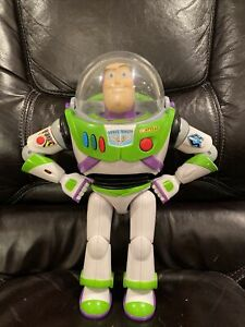 RARE Toy Story Collection Buzz Lightyear 1st First Edition Cloud Logo 2009