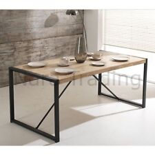Harbour Indian Reclaimed Wood Furniture Large Dining Table