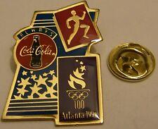 Pins coca cola ALWAYS ATLANTA 1996 athletisme course a pied