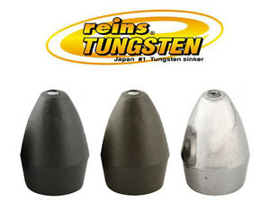 Reins TG Slip Sinker Tungsten Bullet Weights - Select Size(s) Color(s)