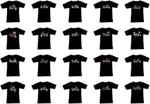 T-Shirt Avec Moto Motif : Honda Motard Fruit of the Loom Moto Partie 2
