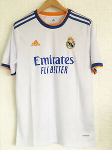 New 2021/2022 FC Real Madrid Football Jersey for Men Home shirt for Adult