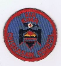 1950's Kia Kima Scout Reservation Chickasaw Council Red C/E 601050