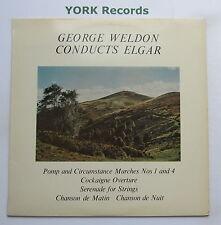 T 296 - ELGAR Pomp & Circumstance Marches 1 & 4 WELDON - Excellent Con LP Record
