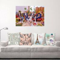 KPOP TXT《Cat&Dog》Wall Poster Hanging Painting YEONJUN SOOBIN Gifft All bara