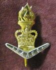 Royal Australian Army Educational Corps - Gold and Silver Anodised Hat Badge