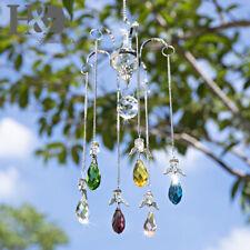 Crystal Hanging Angel Ball Prisms Pendant Suncatcher Lamp Chandelier Home Decor