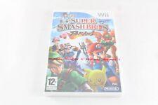 Nintendo Wii Super Smash Bros Brawl Pal Sealed New Video Game V2