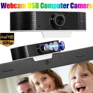 Webcam HD 1920*1080P Videocamera USB 2 MP Microfono conferenza Videochat