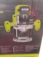 NEW RYOBI 120v 10-Amp CORDED ELECTRONIC VARIABLE SPEED PLUNGE ROUTER RE180PL1G
